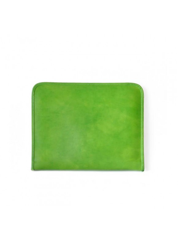 Pratesi Dante R Portfolio for Notes in cow leather - Radica Green
