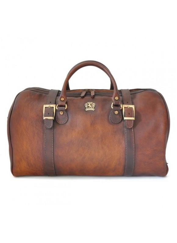 Pratesi Travel bag Perito Moreno in cow leather - Bruce Brown