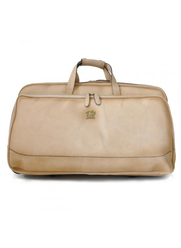 Pratesi Travel Bag Transiberiana B. in cow leather - Bruce White