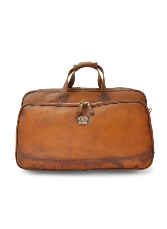 Pratesi Travel Bag Transiberiana S. in cow leather - Bruce Brown