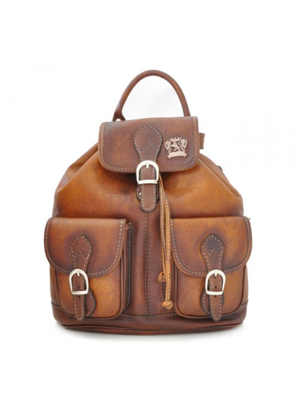 Pratesi Backpack Caporalino in cow leather