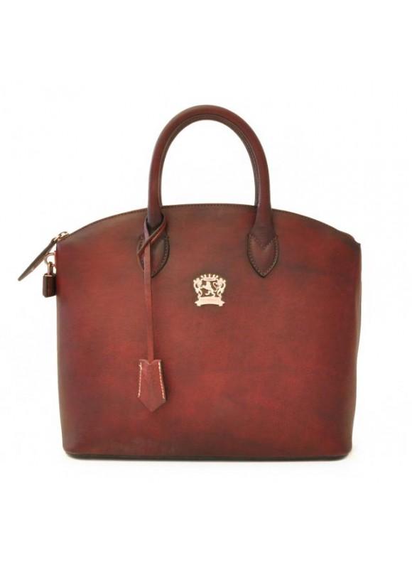 Pratesi Versilia Bruce Handbag in cow leather - Bruce Chianti