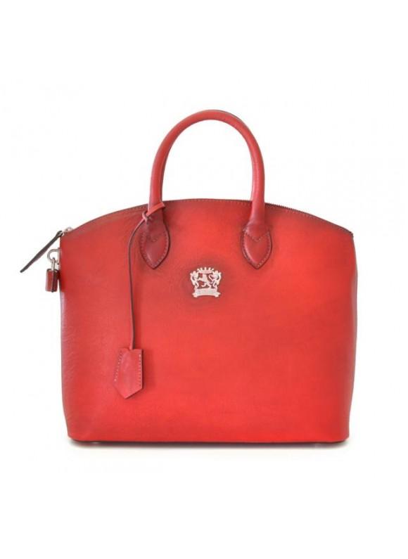 Pratesi Versilia Bruce Handbag in cow leather - Bruce Cherry