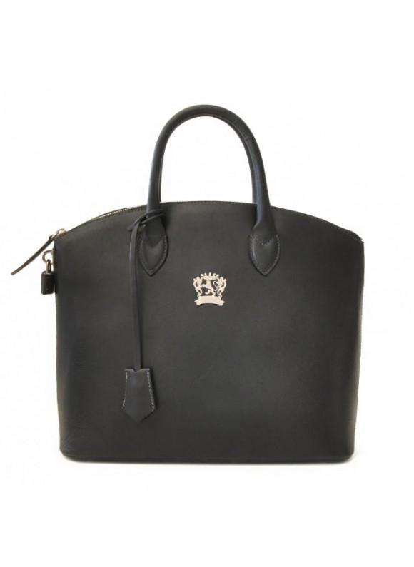 Pratesi Versilia Bruce Handbag in cow leather - Bruce Black