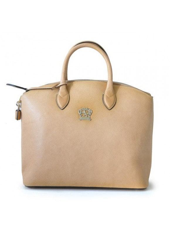 Pratesi Versilia Bruce Handbag in cow leather - Bruce Panna