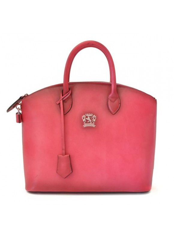 Pratesi Versilia Bruce Handbag in cow leather - Bruce Pink