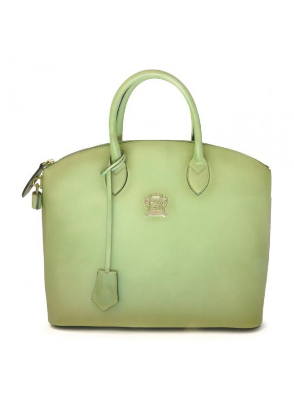 Pratesi Versilia Bruce Handbag in cow leather - Bruce Green