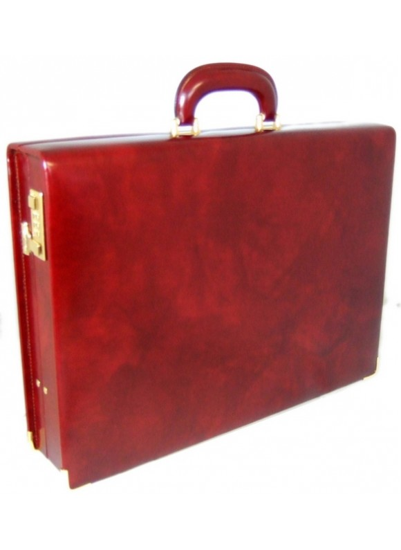 Pratesi Machiavelli Attach Case in cow leather - Radica Chianti