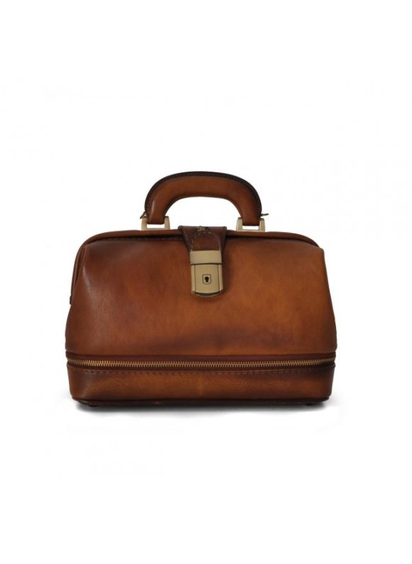 Pratesi Doctor Bag Montefioralle Small in cow leather - Bruce Brown