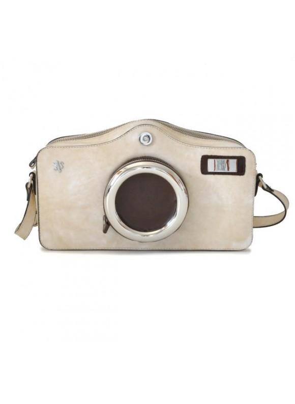 Pratesi Photocamera Radica Shoulder Bag in cow leather - Photocamera Radica Shoulder Bag in cow leather
