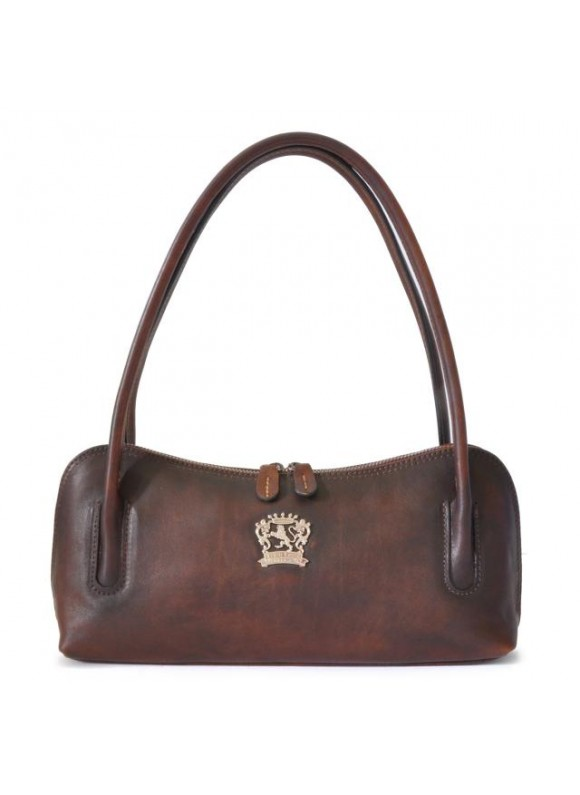 Pratesi Sansepolcro Shoulder Bag in cow leather - Bruce Coffee