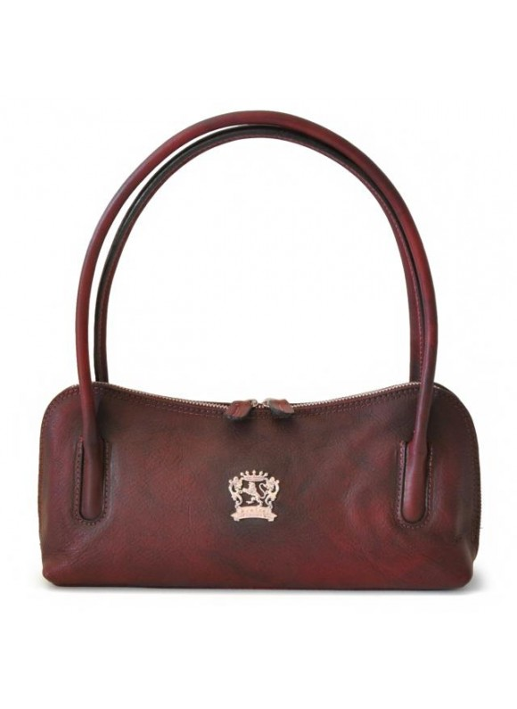 Pratesi Sansepolcro Shoulder Bag in cow leather - Bruce Chianti