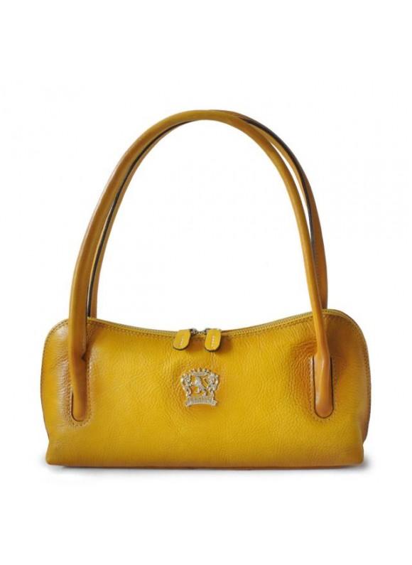 Pratesi Sansepolcro Shoulder Bag in cow leather - Bruce Yellow