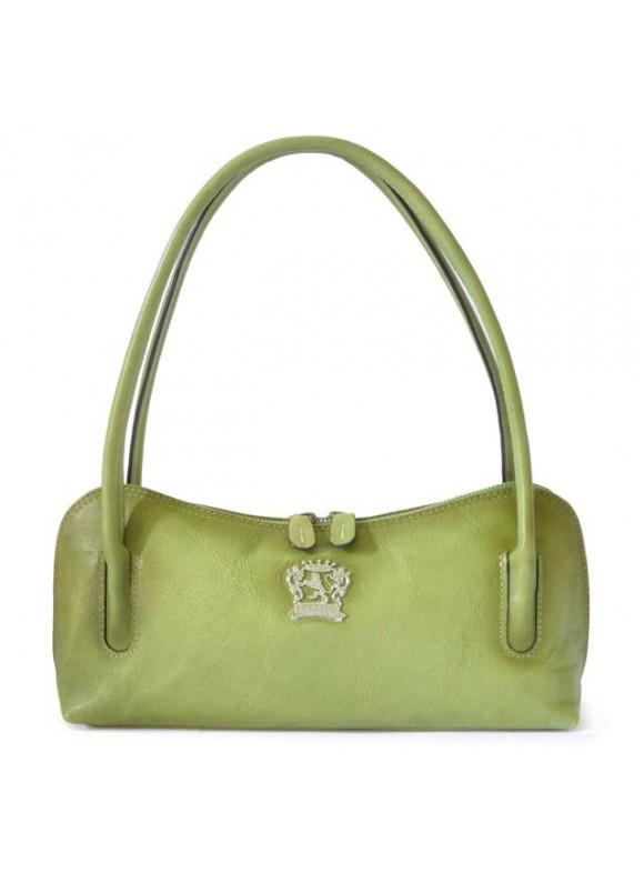 Pratesi Sansepolcro Shoulder Bag in cow leather - Bruce Verde