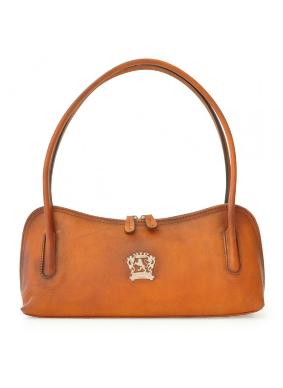 Pratesi Sansepolcro Shoulder Bag in cow leather - Bruce Cognac