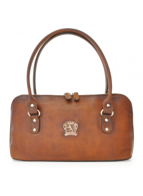 Pratesi Shoulder bag Subbiano in cow leather - Bruce Brown