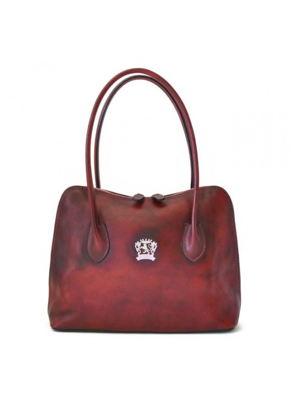 Pratesi Shoulder Bag Talla in cow leather - Bruce Chianti