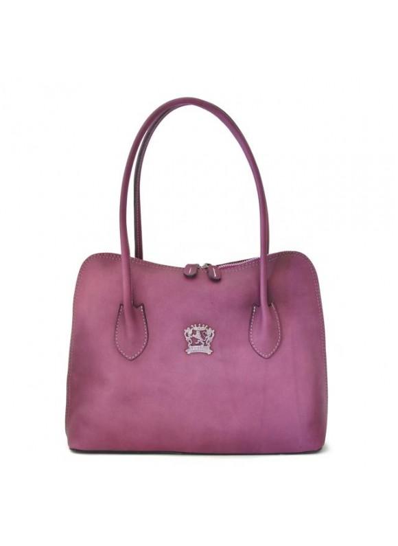Pratesi Shoulder Bag Talla in cow leather - Bruce Violet