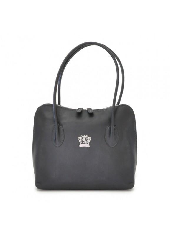 Pratesi Shoulder Bag Talla in cow leather - Bruce Black