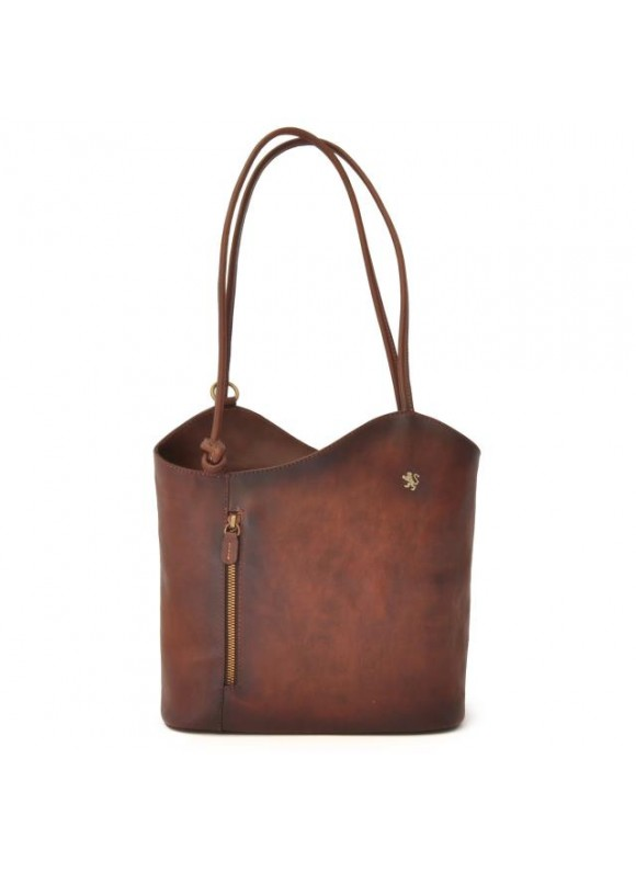 Pratesi Consuma Shoulder Bag in cow leather - Bruce Coffee