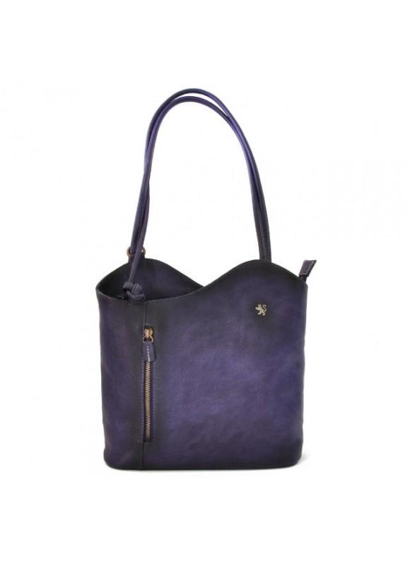 Pratesi Consuma Shoulder Bag in cow leather - Bruce Violet