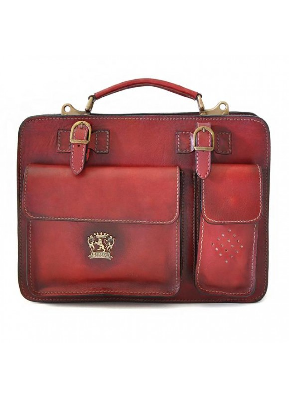 Pratesi Business Bag Milano Medium in cow leather - Bruce Chianti