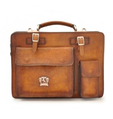Pratesi Business Bag Milano Medium in cow leather - Bruce Brown