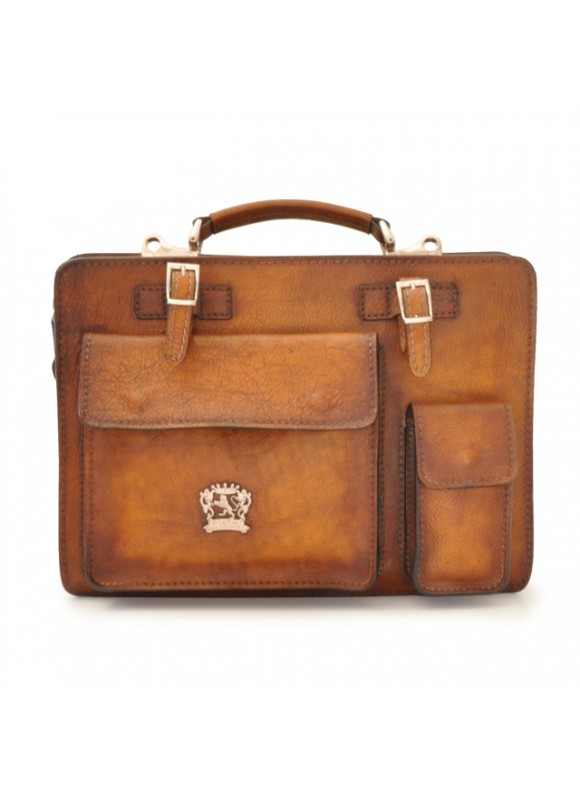 Pratesi Business Bag Milano Medium in cow leather - Bruce Brown