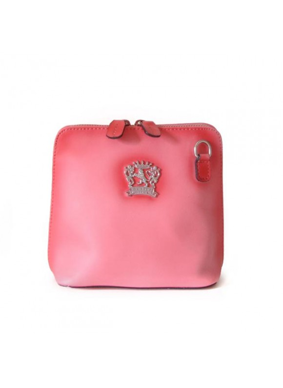 Pratesi Cross-Body Bag Volterra Bruce in cow leather - Bruce Pink
