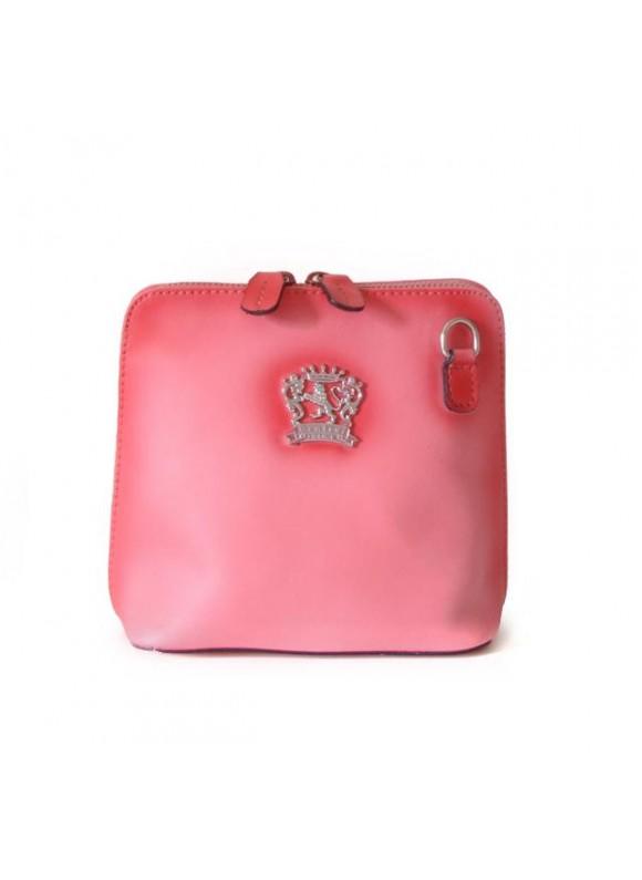 Pratesi Cross-Body Bag Volterra Bruce in cow leather - Bruce Pink