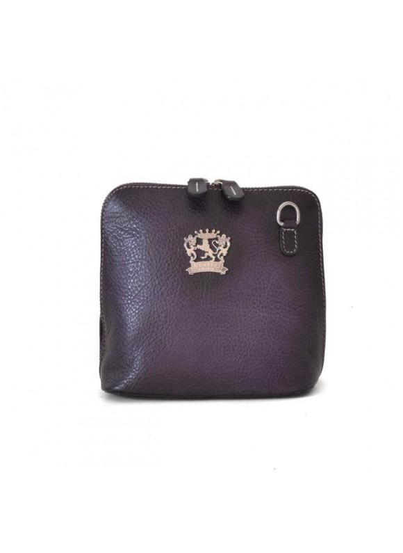 Pratesi Cross-Body Bag Volterra Bruce in cow leather - Bruce Violet