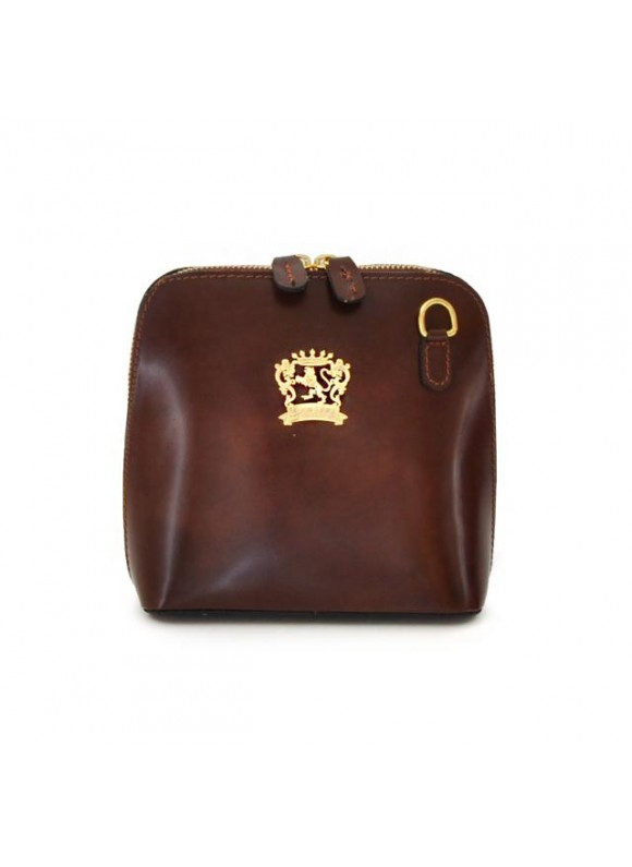 Pratesi Volterra Woman Clutches in cow leather - Radica Coffee