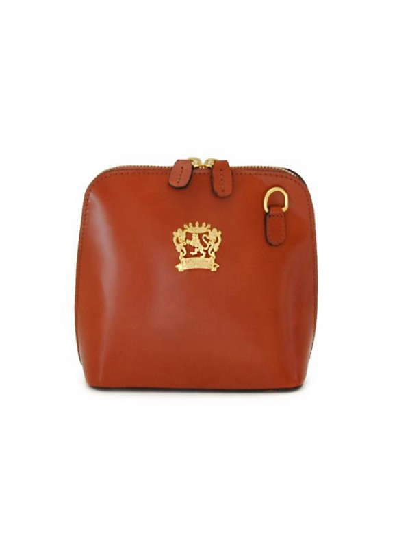 Pratesi Volterra Woman Clutches in cow leather - Radica Brown