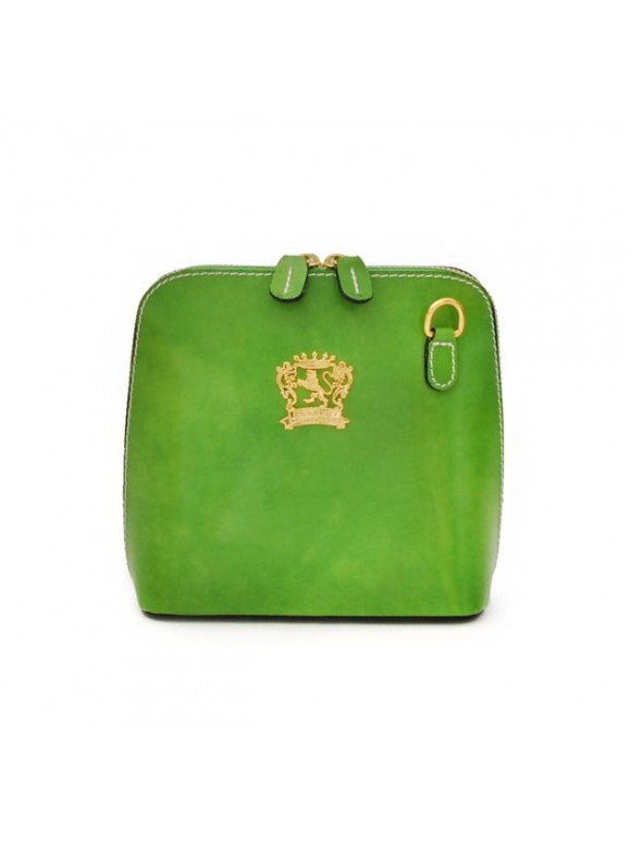 Pratesi Volterra Woman Clutches in cow leather - Radica Green