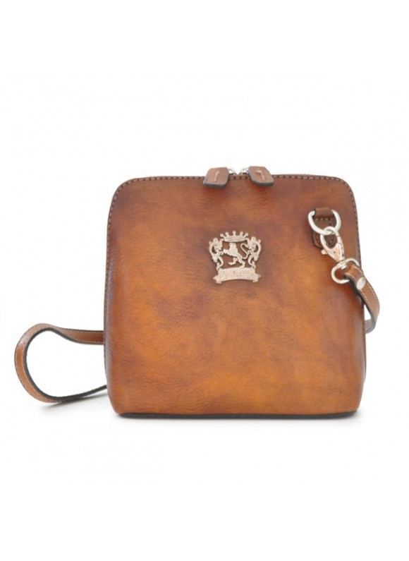 Pratesi Cross-Body Bag Volterra Bruce in cow leather - Bruce Brown