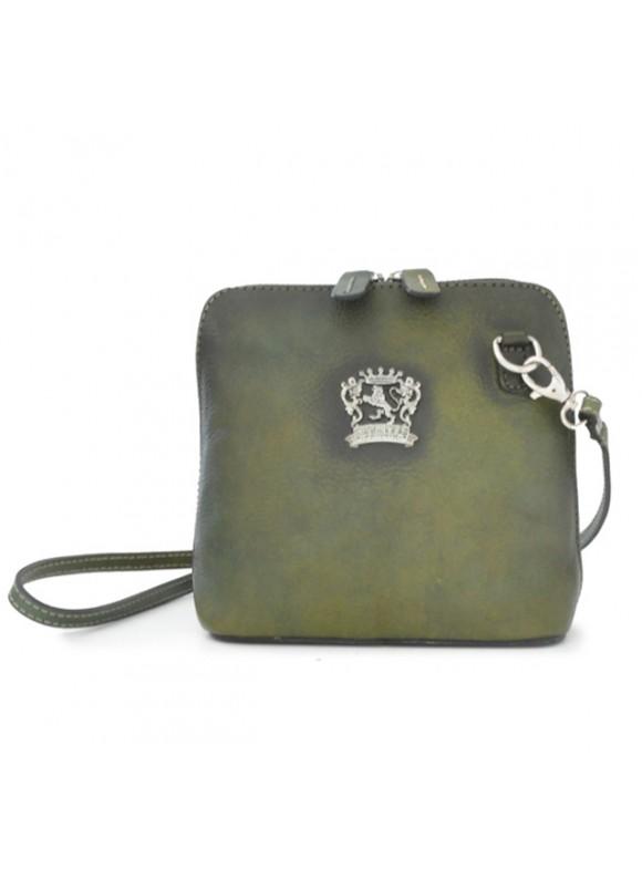 Pratesi Cross-Body Bag Volterra Bruce in cow leather - Bruce Dark Green
