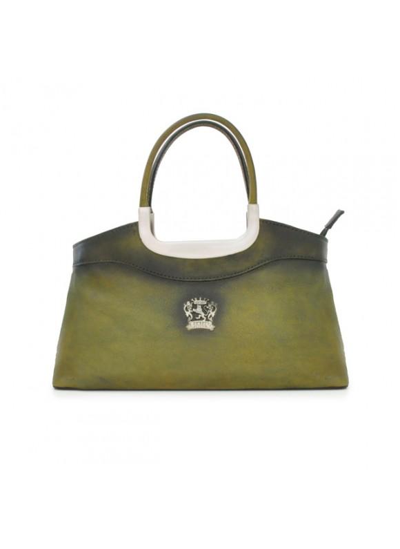 Pratesi Montecatini Woman Bag - Bruce Dark Green