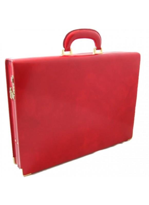 Pratesi Machiavelli Slim Attach Case in cow leather - Radica Cherry