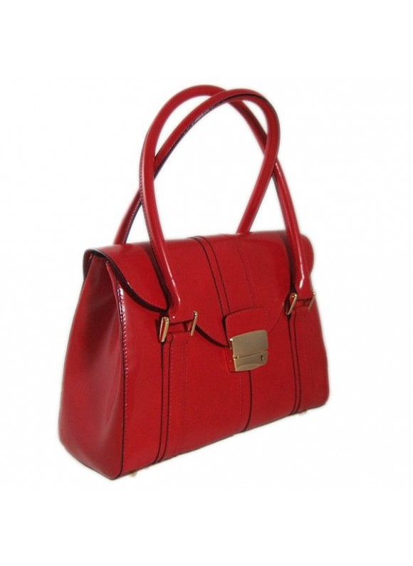 Pratesi Pinturicchio Small Shoulder Bag in cow leather - Radica Cherry