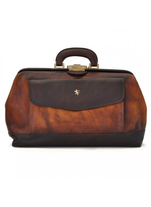 Pratesi Doctor Bag in cow leather - Bruce Brown