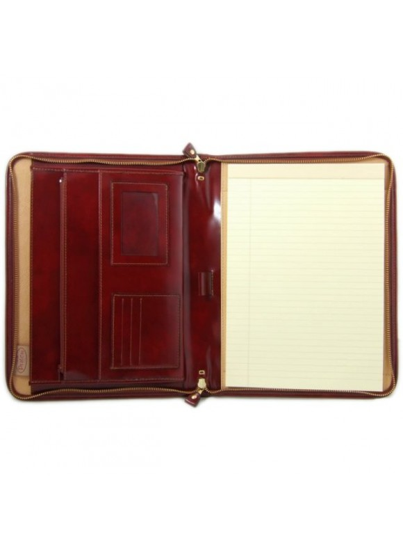 Pratesi Dante R Portfolio for Notes in cow leather - Radica Chianti