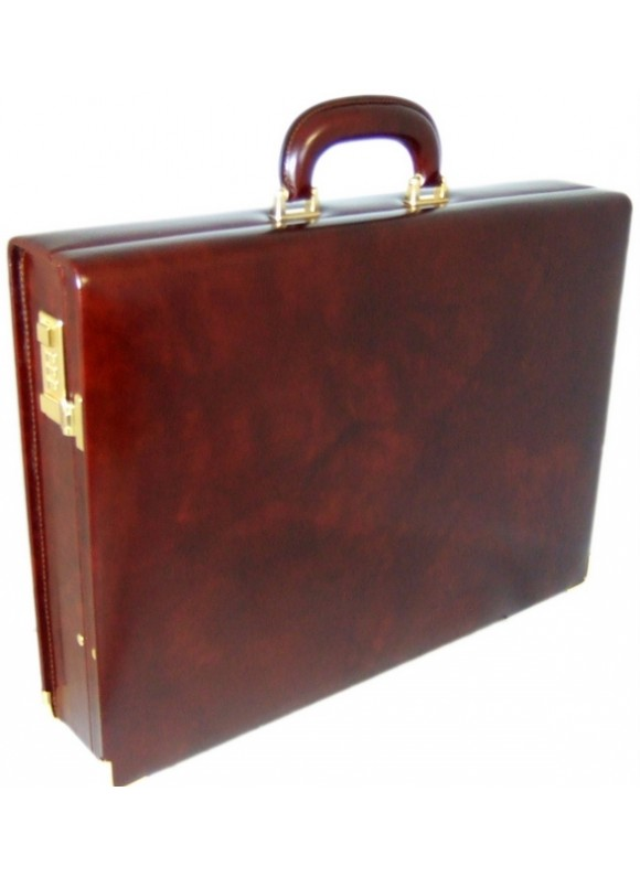 Pratesi Machiavelli Attach Case in cow leather - Radica Coffee