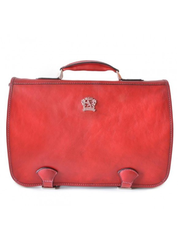 Pratesi Business Bag Secchieta in cow leather - Bruce Cherry
