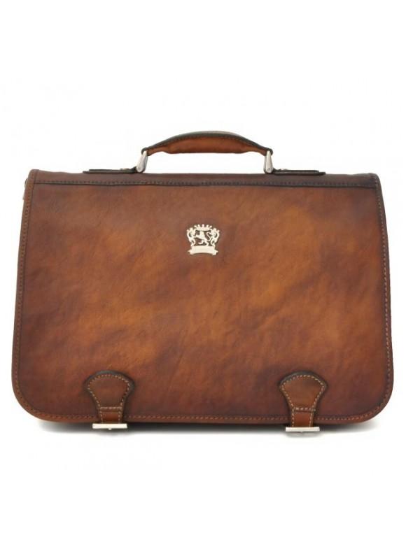 Pratesi Business Bag Secchieta in cow leather - Bruce Brown