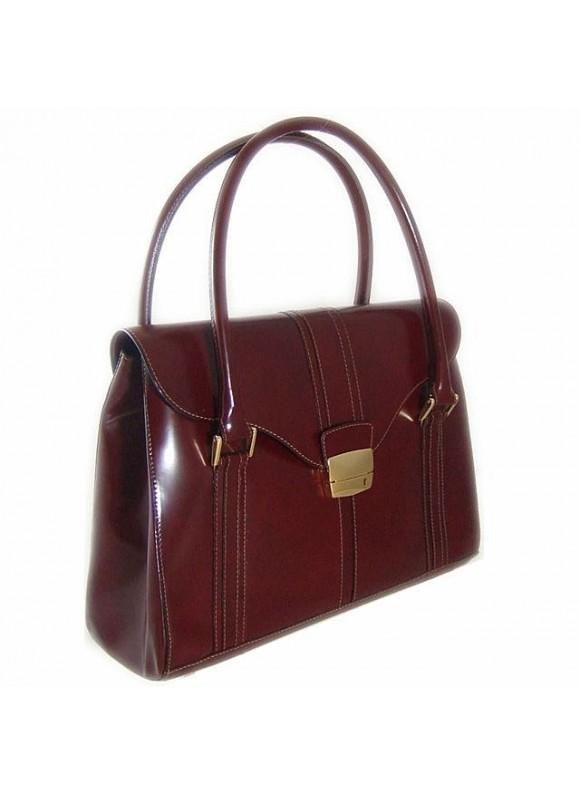 Pratesi Pinturicchio Shoulder Bag in cow leather - Radica Chianti