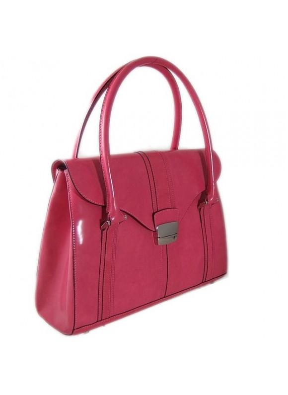 Pratesi Pinturicchio Shoulder Bag in cow leather - Radica Pink