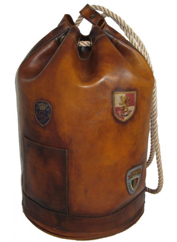 Pratesi Travel Bag Patagonia in cow leather - Bruce Brown