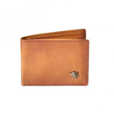 'Pratesi Cappella Brancacci Men''s Wallet - Bruce Cognac'