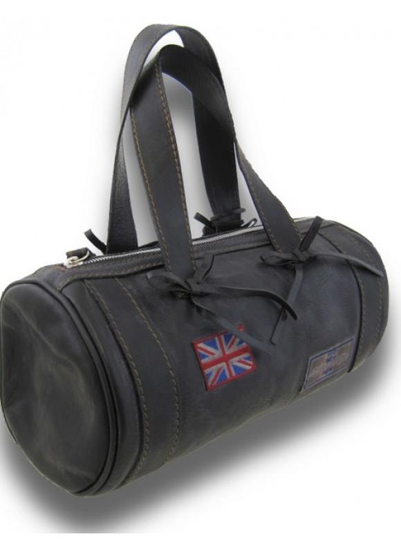 Pratesi Handbag Marisol Small in cow leather - Bruce Black