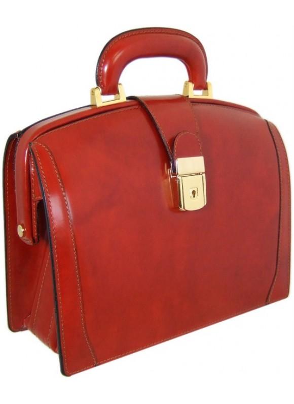 Pratesi Miss Brunelleschi Bag in cow leather - Radica Brown
